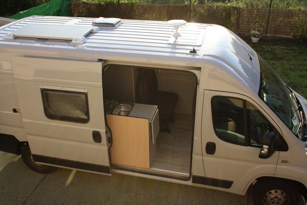Ciclope Camper - preparación furgonetas - kit solar